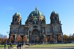 Berlin Cathedral church Berliner Dom , Berlin, Germany stock images