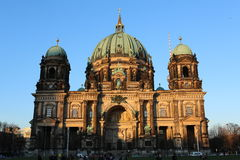 Berlin Cathedral Church Berliner Dom. Berlin Cathedral German: Berliner Dom is the short name for the Evangelical Supreme Parish and Collegiate Church Oberpfarr Royalty Free Stock Photography