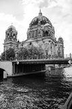 Berlin Cathedral Church. Berliner Dom - Berlin Cathedral Church in the middle of the day Royalty Free Stock Images