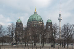 Berlin Cathedral Church Royalty Free Stock Photography