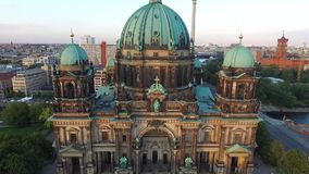 Berlin Cathedral Church duitsland stock footage