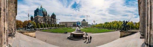 Berlin Cathedral Church, gelegen auf Museumsinsel stockfoto