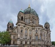 Berlin Cathedral and clouded sky Stock Photo