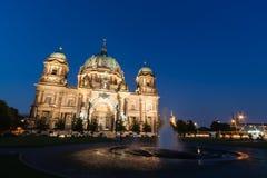 Berlin Cathedral (Deutscher: Bewohner von Berlin Dom) ist eine Kirche in Berlin, G stockfoto