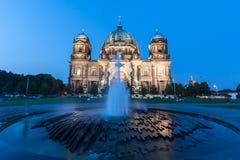 Berlin Cathedral (Deutscher: Bewohner von Berlin Dom) ist eine Kirche in Berlin, G lizenzfreie stockbilder