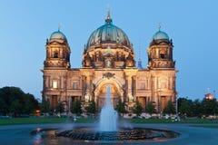 Berlin Cathedral (Deutscher: Bewohner von Berlin Dom) ist eine Kirche in Berlin, G stockfotografie