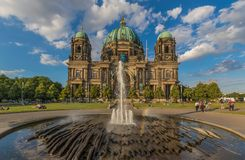 Berlin Cathedral, Berlin deutschland lizenzfreie stockfotos