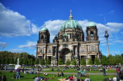 Berlin Cathedral, The Dome at Berlin city. In a sunny day Stock Photography