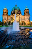 Berlin Cathedral, at dusk Royalty Free Stock Image