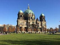 Berlin cathedral. Evangelical Supreme Parish and Collegiate Church in Berlin, Germany royalty free stock image