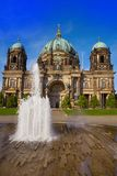 Berlin Cathedral fountain Berliner Dom Germany. Berlin Cathedral fountain Berliner Dom in Germany Royalty Free Stock Image