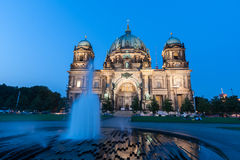 Berlin Cathedral (German: Berliner Dom) is a church in Berlin Stock Photography