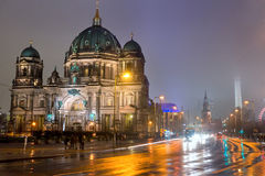 Berlin Cathedral, Germany. Royalty Free Stock Images