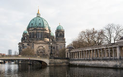 Berlin Cathedral Germany Stock Photography