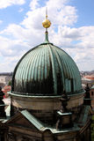 Berlin Cathedral, Germany. Dome of Berlin Cathedral on Museum Island, Germany Royalty Free Stock Photo