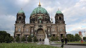 Berlin Cathedral stock video
