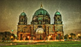 Berlin Cathedral Germany. Taken in 2015 Royalty Free Stock Image