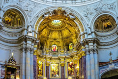 Berlin Cathedral Interior, Germany Royalty Free Stock Photography