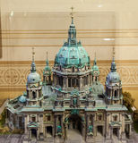 Berlin Cathedral Model Foto de archivo