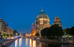 Berlin cathedral on museum island Royalty Free Stock Image
