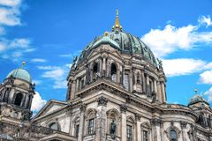Berlin Cathedral on Museum island in the German capital.  royalty free stock photo