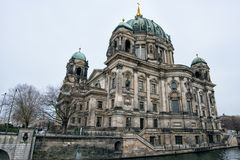 Berlin Cathedral on Museum island in the German capital.  royalty free stock image