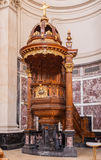 Berlin Cathedral Pulpit Royalty Free Stock Images
