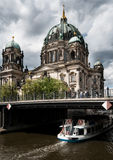 Berlin Cathedral on river Spree Royalty Free Stock Photo