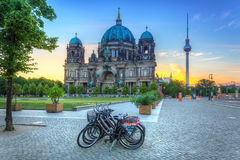 Berlin Cathedral at sunrise Royalty Free Stock Photo