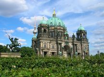Berlin Cathedral And Television Tower Stockfoto