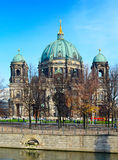 Berlin cathedral view Royalty Free Stock Images