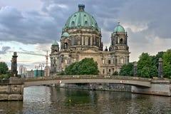 berlin cathedrale Royaltyfri Fotografi