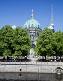 Berlin Catherdral and TV Tower Royalty Free Stock Photo