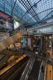 Berlin Central järnvägstation Royaltyfria Foton