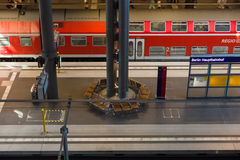 Berlin Central Railway Station Stock Photography