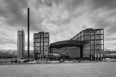 Berlin Central Railway Station Berlin Hauptbahnhof, Allemagne Photos libres de droits