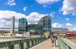 Berlin Central Railway Station Berlin Hauptbahnhof Royalty Free Stock Images