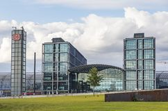 Berlin Central Railway Station Berlin Hauptbahnhof, Germany Stock Images