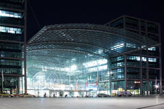 Berlin Central Station Stock Images
