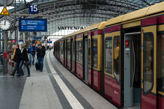 Berlin Central Station Stockbilder