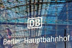 Berlin Central Station stock foto's