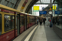 Berlin Central Station Royalty Free Stock Photo