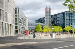 Berlin Central Station Hauptbahnhof Stock Image