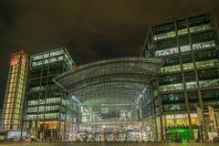 Berlin Central Train Station, Duitsland Royalty-vrije Stock Foto's