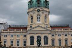 Berlin, Charlottenburg pałac Obraz Stock