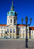 berlin charlottenburg slott Royaltyfri Bild