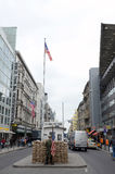 Berlin Checkpoint Charlie Royalty Free Stock Image