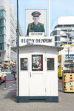 Berlin, Checkpoint Charlie Royalty Free Stock Photography