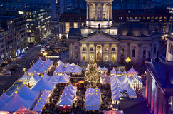Berlin christmas market Stock Image