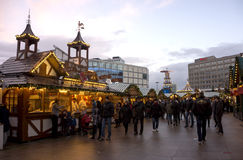 Berlin Christmas Market Stock Photography